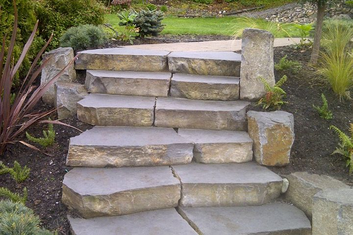 Basalt Stone Steps   Natural Stone