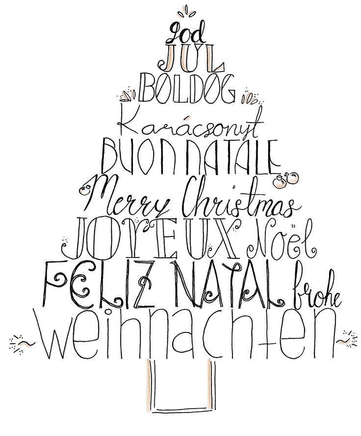 25+ einzigartige Weihnachtskarten zum ausdrucken Ideen auf ...