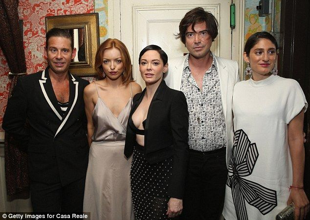 Party on:Derek Anderson, Francesca Eastwood, Rose, Victor Kubicek and Arden Wohl attended...