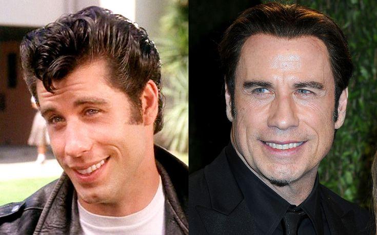 John Travolta then and now