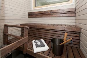 Kokkolan Merihelmi - Yksilöllinen sinkkukoti - Sauna