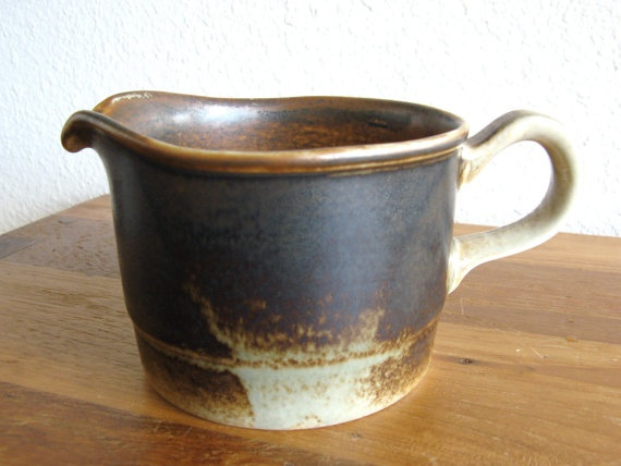 Vintage Ceramic Sauce Boat-Porsgrund Norway by MarketHome on Etsy, $24.00