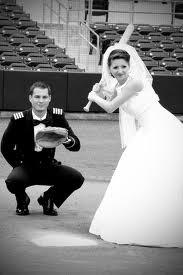 baseball wedding photos - Google Search