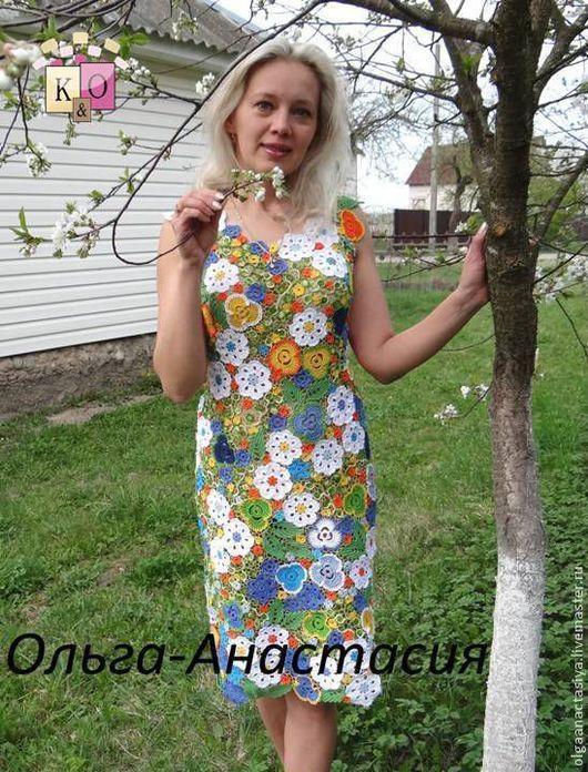 Платья ручной работы. Ирландское кружево Платье