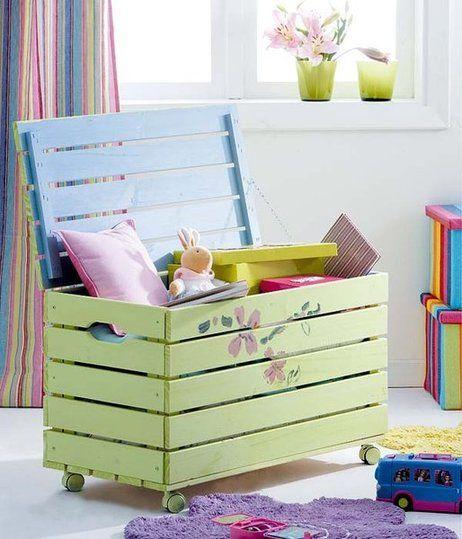 Baúl juguetero #DIY #Recycle #Home