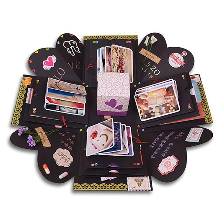 Scrapbooking Photo Album DIY Box Gift Making