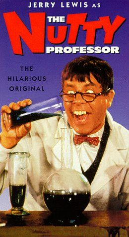 The Nutty Professor: To improve his social life, a nerdish professor drinks a potion that temporarily turns him into the handsome, but obnoxious, Buddy Love.