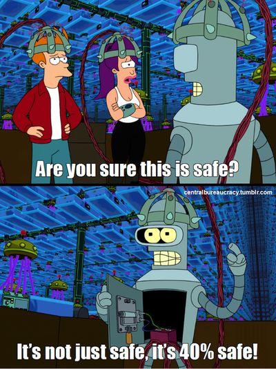 40% safe, or near !
