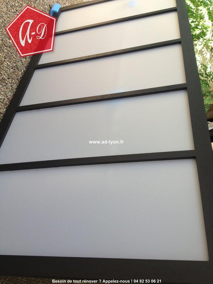 1000 images about cloison japonaise coulissante et porte for Installation d une porte coulissante
