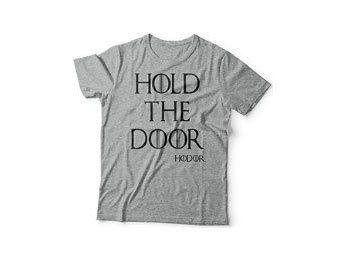 #Camiseta de #Hodor, Hold the door, Juego de tronos #chollo