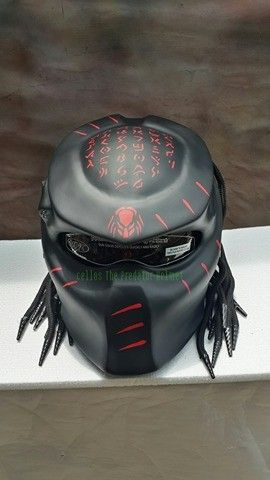 Details  Basic Helm NHK Surely that's been with the National Indonesia (SNI) and DOT certificate Additional accessories such as Lamp with on / off switch. »To the manufacturing process Predator...@ artfire