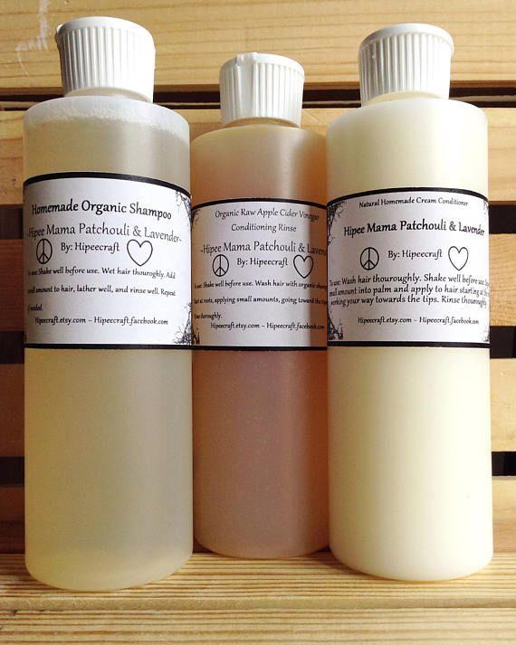 Organic Shampoo and Conditioner Homemade Shampoo Conditioner