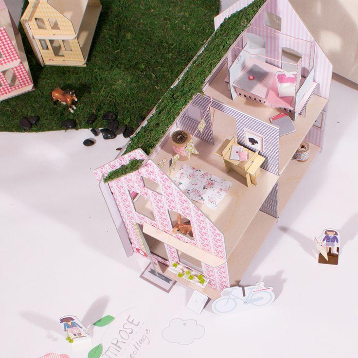Paper doll house diy
