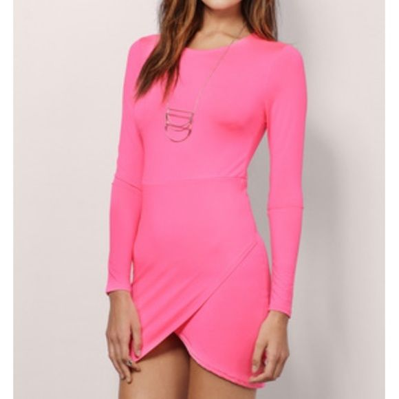 Hot pink going out dress! Super cute going out dress! New, never worn! Tobi Dresses Mini