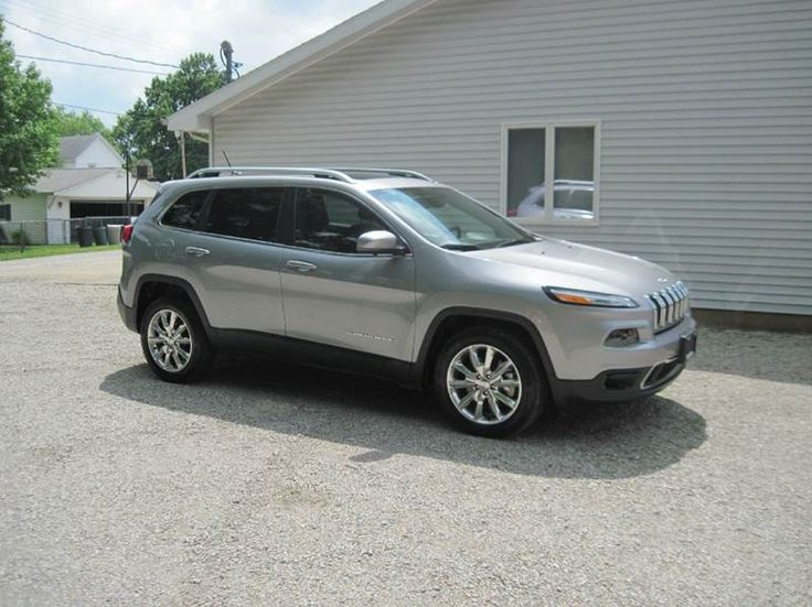 9 best 2015 jeep cherokee silver images on pinterest for Grabb motors shelbyville il