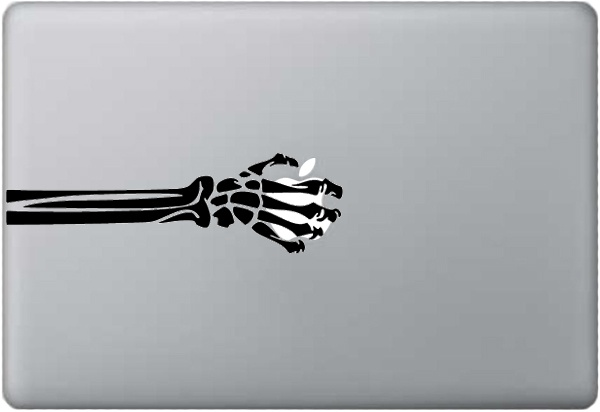 skeleton decal
