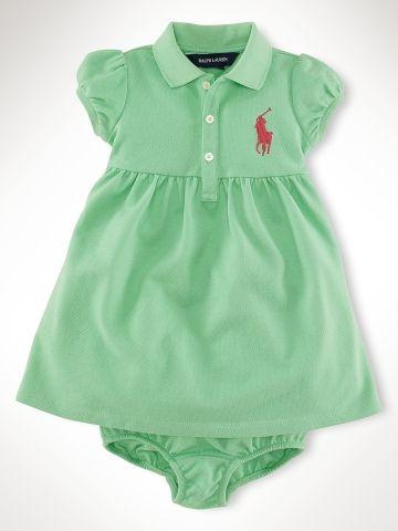 Polo baby dress , too cute!