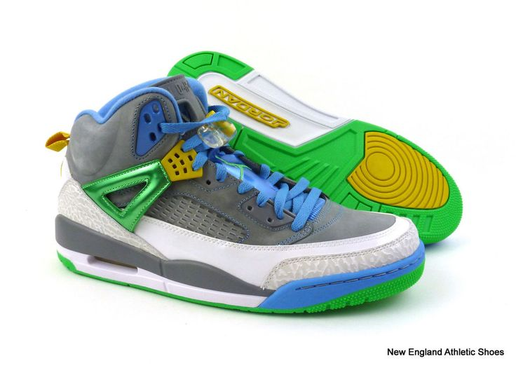 Nike mens Jordan Spizike basketball shoes size 13 - Stealth / Poison Green $175 #Nike #BasketballShoes