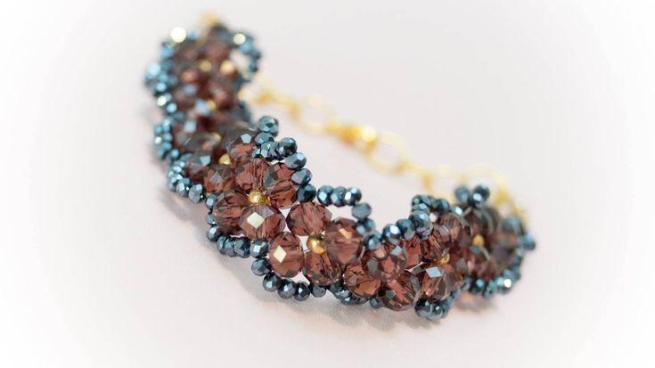 Excited to share the latest addition to my #etsy shop: Bracelet 11 http://etsy.me/2CppYoO #jewelry #bracelet #brown #black #no #women #womanbracelet #handmadebracelet #fashionbracelet