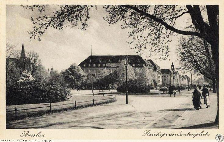 Plac Powstańców Śląskich. Rok 1928