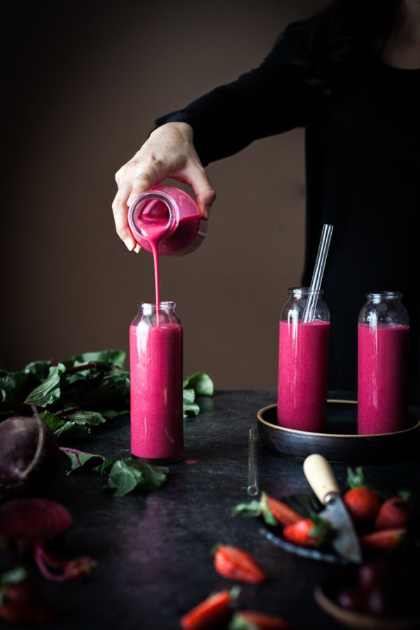 Cherry Berry Beet Smoothie - The Kitchen McCabe