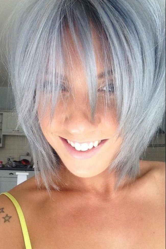 grey hair looks cool grey hair pinterest colors grey and hair. Black Bedroom Furniture Sets. Home Design Ideas