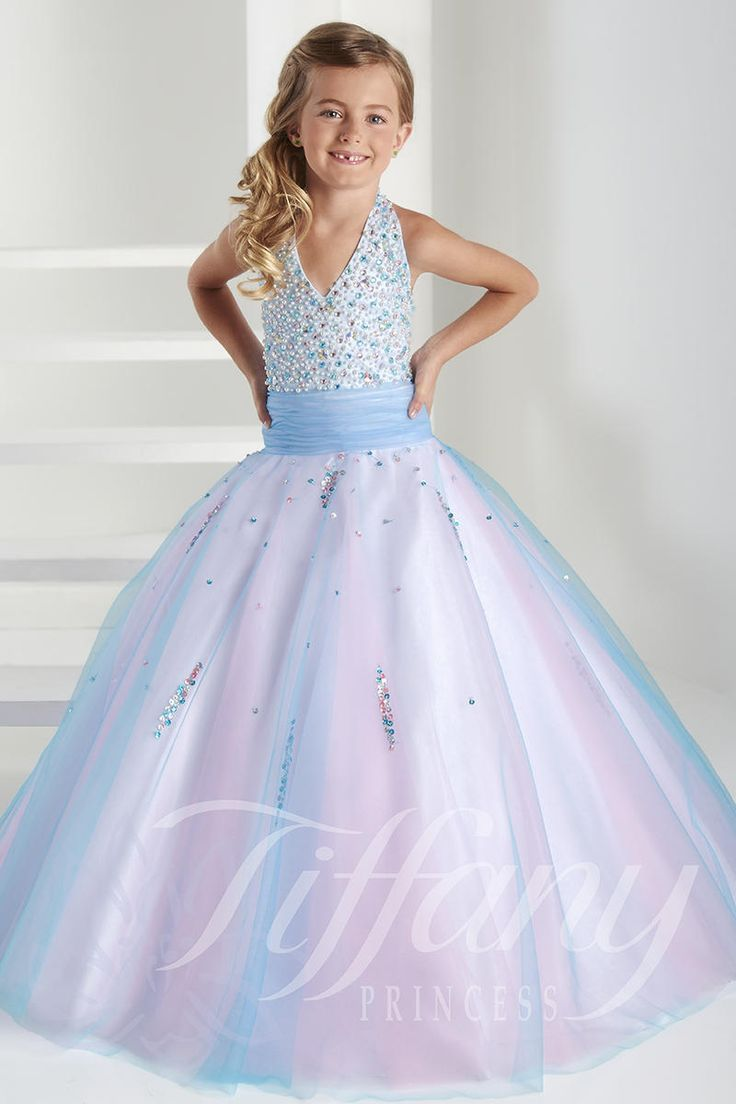 Tiffany Pageant Dresses For Girls 13407