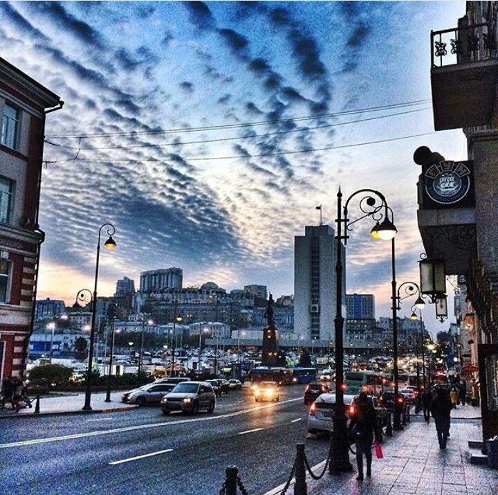 #Vladivostok #centre #sky