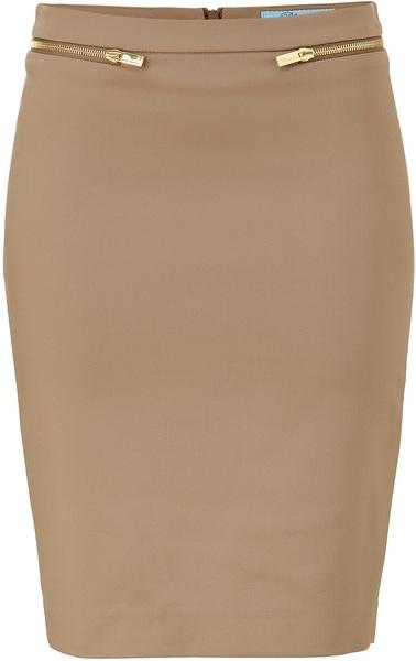 BLUMARINE ITALY   Beige Pencil Skirt