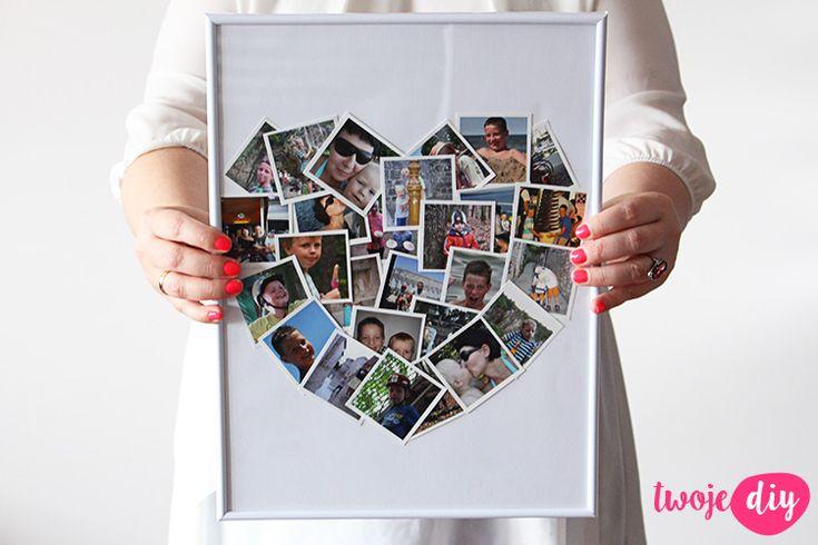 Serce ze zdjęć na Walentynki - zrób to sam na twojediy.pl