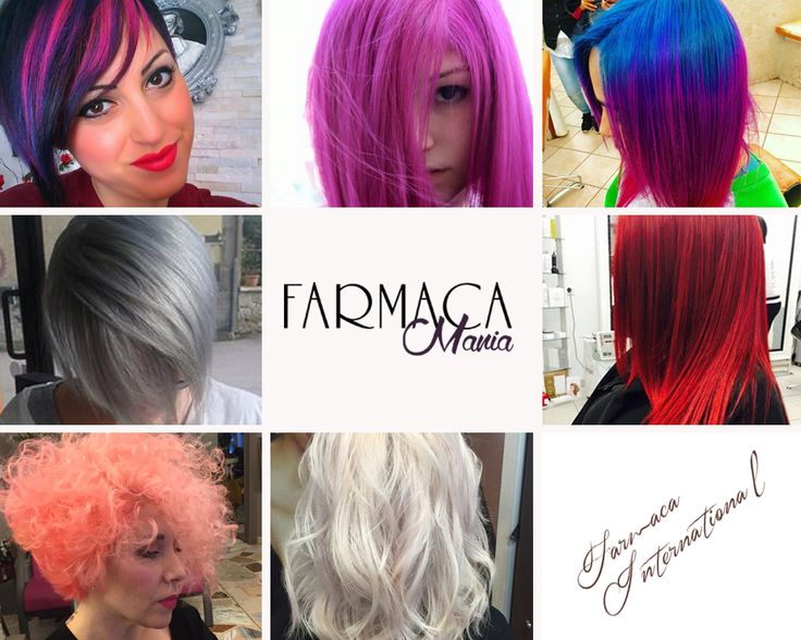 Diventa protagonista del colore con Défilé di Farmaca International  #rainbowhair #hairstyle #haircolor