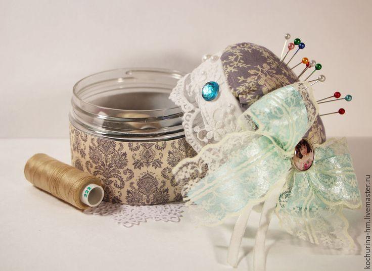 Делаем шкатулку-игольницу своими руками - Ярмарка Мастеров - ручная работа, handmade