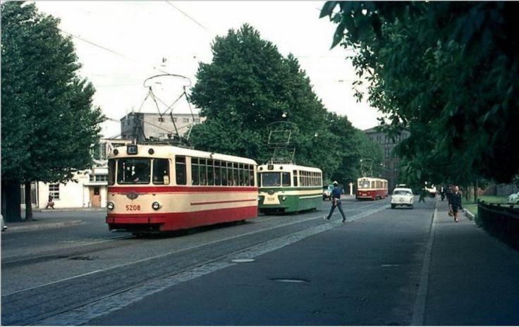 Советский трамвай