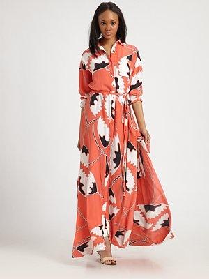 Diane von Furstenberg - Laramie Dress - Saks.comSummer Fashion, Tidy Closets, Furstenberg Dvf, Dvf Dresses, Laramie Dresses, Diane Von Furstenberg, Dvf Laramie, Floor Length Dresses, Style Ideas