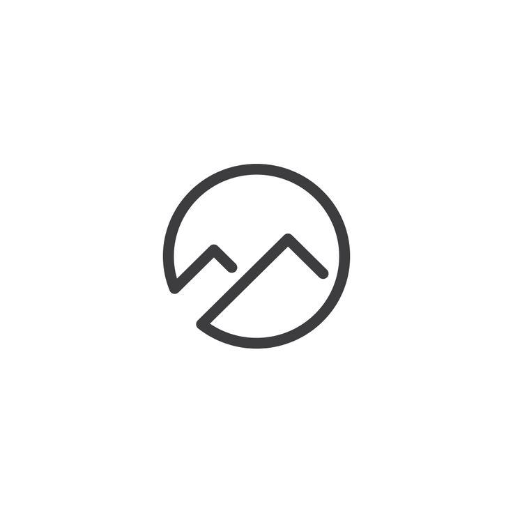 #vector #logo #logotype #clean #mark #sign #web #it #tech #website #minimal #brand #branding #corporate #identity #logoinspiration #logoexcellent #mountain #circle #nature #hill #sport #travel #vacation #agency #trip #relax #strength #run #logoinspire