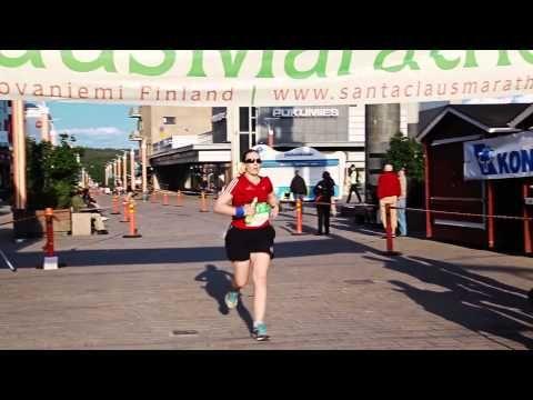 Santa Claus Marathon in Rovaniemi in Finland