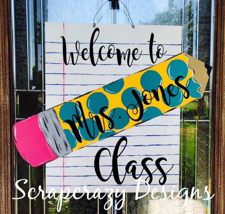 A personal favorite from my Etsy shop https://www.etsy.com/listing/542608837/teacher-door-hanger-teacher-teacher-gift
