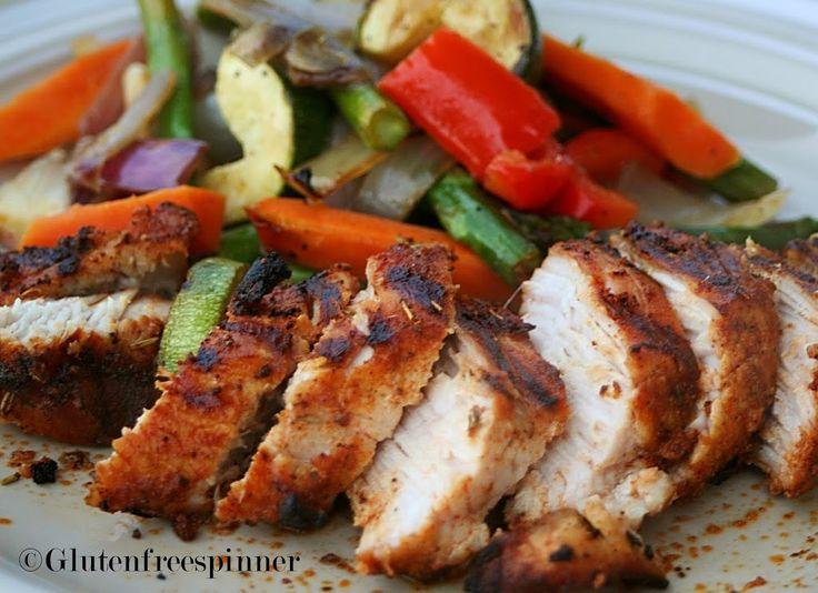 Grilled Turkey Tenderloin | Gluten Free Spinner