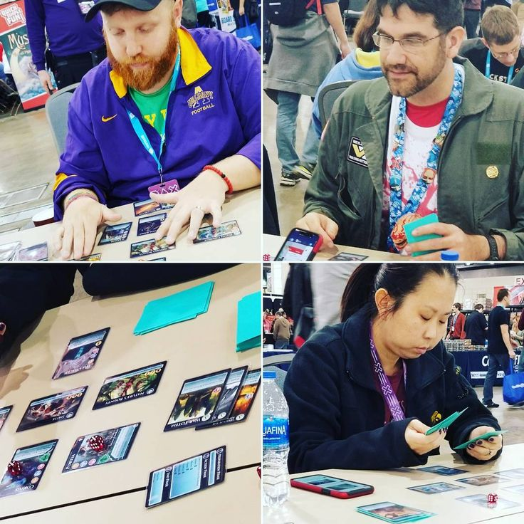 Another day of ROBA demos begins at PAX Unplugged! Check us out in the Tabletop Free Play area in Hall G! #RadiantOfflineBattleArena #ROBA #PAX #PAXUnplugged #philadelphia #philly #games #demos #tabletop #CantStopWontStop