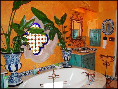 Mexican Bathroom Inspiration