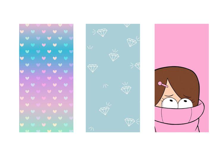 3 wallpapers para fazer Capinha de celular com Squishy