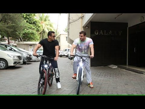 Salman Khan Launches E - Cycle For Being Human Foundation I BollywoodWor...