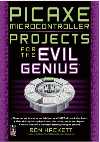PICAXE Microcontroller Projects eTextbook