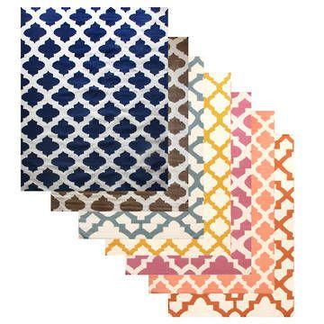 Maroc Wool Kilim Rug l Eco Chic Natural Rugs l Fair Trade Rugs Online