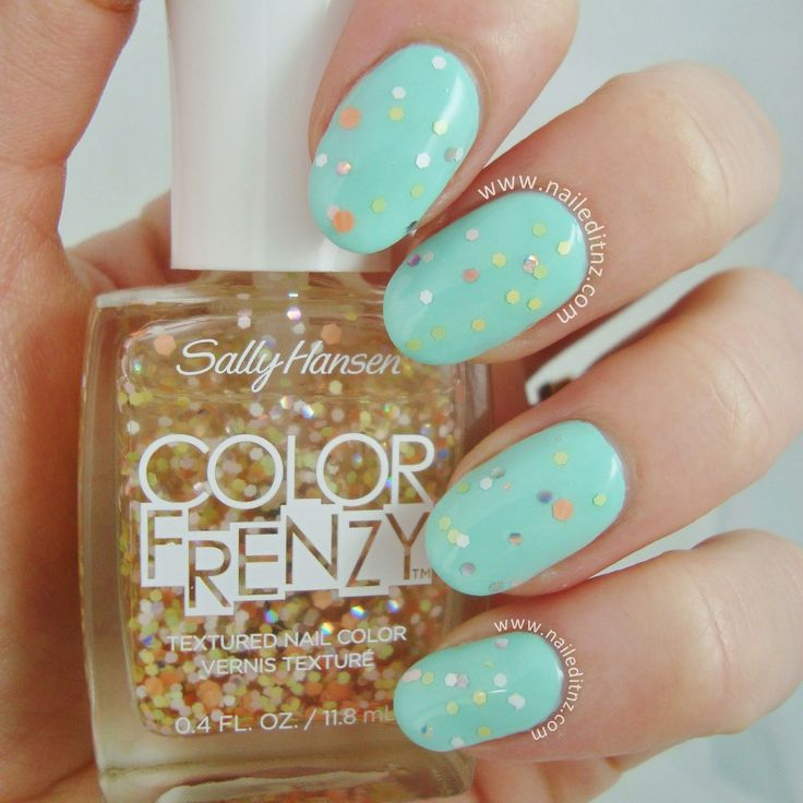 Picture Polish Tiffany + Sally Hansen Color Frenzy in Fruit Spritz