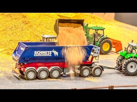 RC tractor ACTION! R/C tractors working hard! - YouTube