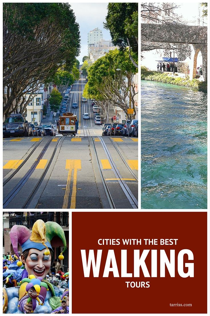 10 cities with great walking tours | Tarriss Travel Gear | http://tarriss.com