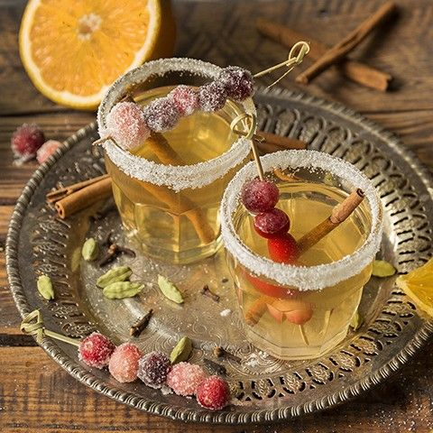 Let the festivities begin!! Honey Ginger Mulled White Wine anyone? Just kidding this is all for me. ;) But if you check out the recipe you can make it too!
