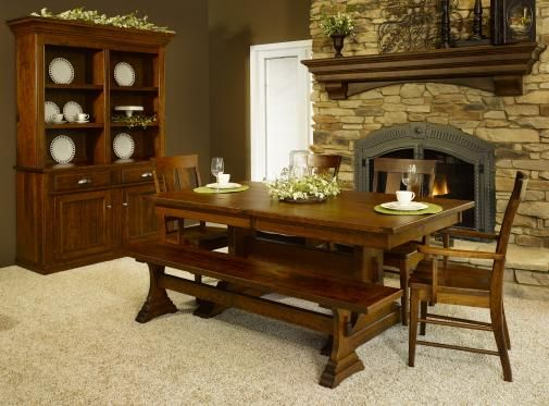 Mckinley Collection | Amish Furniture | Solid Wood Mission Shaker Furniture  | Chicago Area, Illinois