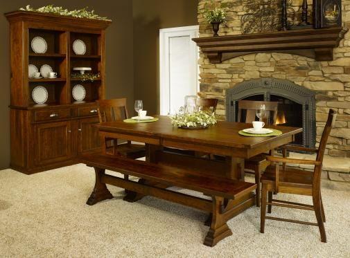 218 besten amish furniture bilder auf pinterest, Esstisch ideennn
